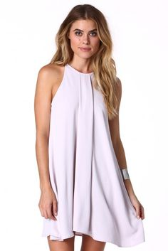 Lush Darling Shift Dress in Lavender   Necessary Clothing