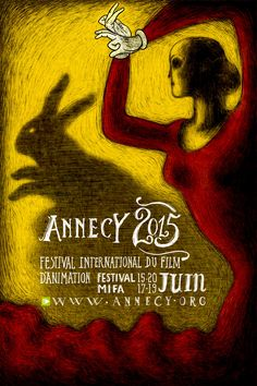 LAPIN! Regina Pessoa on Annecy 2015 Poster | Skwigly Animation Magazine