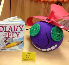 Some of the fabulous storybook pumpkins from our amazing teachers on display in our school media center! Pumpkin Contest, Pumpkin Ideas, Halloween Pumpkins, Halloween Crafts, Book Character Pumpkins, Pumpkin Books, Fun Projects, School Projects, Fly Craft