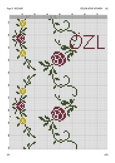 Cross Stitch Borders, Cross Stitch Flowers, Cross Stitch Designs, Hippie Crochet, Embroidery Transfers, Easter Crafts, Baby Knitting, Needlework, Pink Ladies