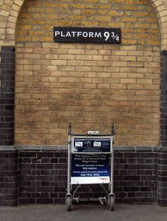 The nerd in me must see this. Harry Potter Train in Scotland - London Kings Cross Station, London Platform 9 3/4 was filmed between platforms 4 and 5 at Kings Cross mainline station in London.