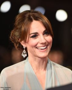 "Catherine, Duchess of Cambridge attends The Cinema and Television Benevolent Fund's Royal Film Performance 2015 of the 24th James Bond Adventure, ""Spectre"" at Royal Albert Hall on October 26, 2015 in London."