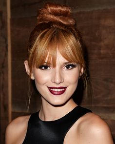 20 Back To School Hairstyles For Every Personality - Top Knot: Bella Thorne from #InStyle Awesome tips www.naturalwhiteskin.com Casual Hairstyles For Long Hair, Easy Updos For Long Hair, Back To School Hairstyles, Twist Hairstyles, Summer Hairstyles, Straight Hairstyles, Cool Hairstyles, Long Hair Styles, Celebrity Hairstyles