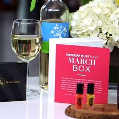 Video popsugar must have march box revealed