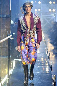 John Galliano Fall 2011 Menswear Collection Slideshow on Style.com