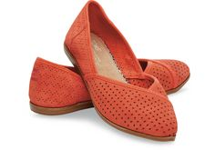 Fiesta Suede Perforated Women's Jutti Flats | TOMS