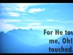 HE TOUCHED ME with LYRICS -  ELVIS PRESLEY (a rare gospel music by 'The Legend')