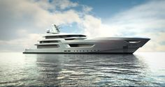 A first collaboration with Oceanco to create a striking profile based on their 100m platform. Exteriors by Bannenberg and Rowell
