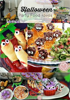 Halloween party food ideas for kids party or playdate! The trick is to skip the steps you can, while adding personal touches where it matters most.