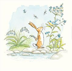 The World of Cute Love: Sweet Illustrations by Anita Jeram. – Bookmarin