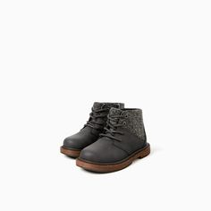 CLASSIC CONTRASTING BOOTS-SHOES-Baby boy-Baby | 3 months - 3 years-KIDS | ZARA United States