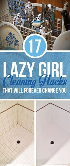 17 Lazy Girl Cleaning Hacks That Will Forever Change You | Pinterest Goodies
