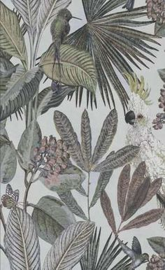 Hertex Fabrics is s fabric supplier of fabrics for upholstery and interior design Trendy Wallpaper, Home Wallpaper, Textured Wallpaper, Contemporary Wallpaper, Wallpaper Ideas, Hertex Fabrics, Jungle Bedroom, Tropical Vibes, British Colonial