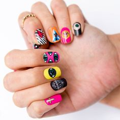 GUMMÍ NAILS - Fall 2013 Collection (Third Eye) #nails #gumminails #cozycot