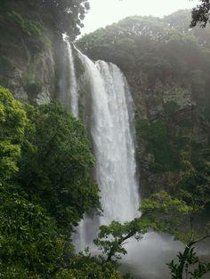 Ung-ddo waterfall @ Je-ju island, South Korea