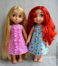 Купить Ночнушка для куклы Дисней/Disney. - кукла дисней, одежда для кукол, disney, дисней, куклы дисней