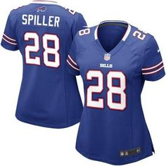 C.J. Spiller Buffalo Bills Nike Women's Team Color Game Jersey - Royal Blue