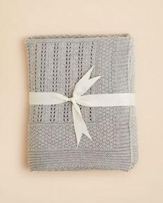 Elegant Baby Unisex Seed Knit Blanket   Bloomingdale's