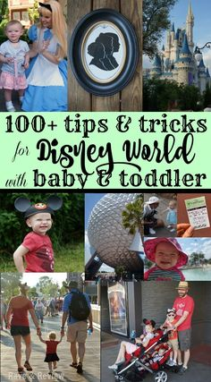 100+ Tips and Tricks for Disney World with Baby and Toddler