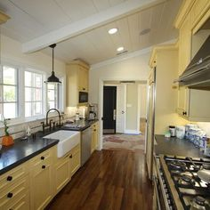 New Home Must Haves On Pinterest Galley Kitchens Ranch