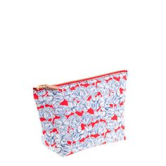 J.Crew - Liberty zip pouch in Matilda tulip floral. Keep yourself organized (and your essentials with you) in a cute printed pouch. Freshly picked from London's Liberty Art Fabrics (famous since 1875 for its intricate florals and paisleys), this hand-sketched tulip print was adapted from photos snapped at London's Chelsea Flower Show in a color palette inspired by Dutch pottery. $34.50.