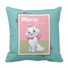 Marie Little Dreamer Throw Pillow.  Learn more at the picture