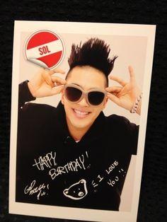 Taeyang Birthday Card ♡ #BIGBANG