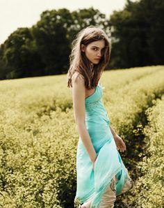 Tiffany blue gown