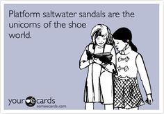 saltwater sandals shoes platforms