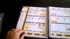 How I use my Erin Condren Life Planner {DIY dividers}