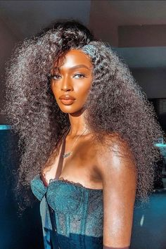 Black Girls Hairstyles, Braided Hairstyles, Lace Front Wigs, Lace Wigs, Curly Hair Styles, Natural Hair Styles, Beautiful Black Girl, Human Hair Wigs, Hair Looks