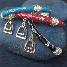 Enamel bracelets English Riding, Coral, Turquoise, Equestrian Style, Enamel, Personalized Items, Bracelets, Black, Jewelry