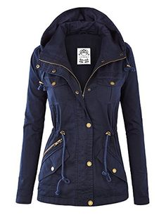 MBJ Womens Pop of Color Parka Jacket L NAVY Made By Johnny http://www.amazon.com/dp/B00WVSC61U/ref=cm_sw_r_pi_dp_wGAewb150EJ4P