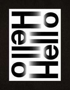 Hello Hello - A3 Studio compliment card - A3 studio
