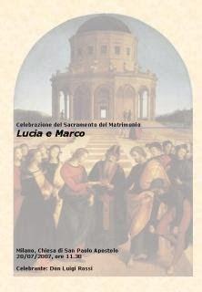 Libretto Di Matrimonio Modelli Per Rito Ambrosiano E Romano Matrimonio Libretto Matrimonio Chiesa
