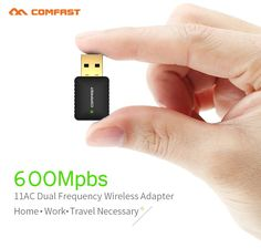Wireless Wi fi Adapter Mini PC WiFi adapter 600mbps USB WiFi antenna Dual Band 2.4GHz 5GHz computer Network Card 802.11b/n/g/ac   Read more at Electronic Pro Market : http://www.etproma.com/products/wireless-wi-fi-adapter-mini-pc-wifi-adapter-600mbps-usb-wifi-antenna-dual-band-2-4ghz-5ghz-computer-network-card-802-11bngac/   Note:   When you received the item if the CD Driver is broken please click this link to get the Driver,thanks!           (For IOS system)