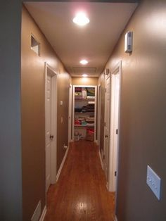 Contractor's Notebook :: Spring Van Cleaning, Atop a 40 Foot Ladder + Installing Recessed Lighting, Dressing Room Closet, Long Hallway, Diy Home Improvement, Home Repair, Spring Cleaning, Remodeling, Lights, Ladders