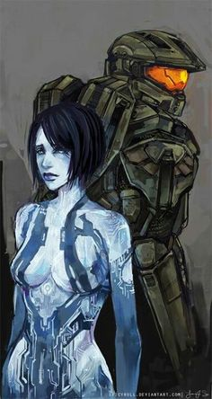Chief and Cortana