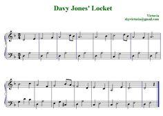 jolly sailor bold piano sheet music | Davy Jones' Locket Theme song on piano - YouTube