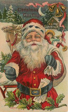 Santa Claus Ermine Fur Striped Mittens Doll Jester Reindeer Dark Night Bells '09   eBay