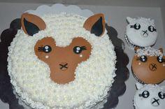 Alpaca cake & cupcakes