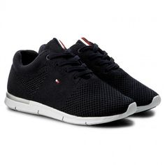 Sneakersy TOMMY HILFIGER - Skye 10D FW0FW01048 Midnight 403