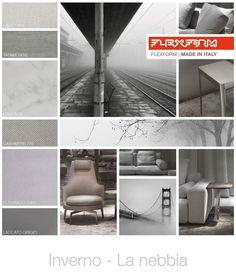 FLEXFORM   WINTER - FOG #INSPIRATION #colour #materials