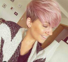 Pretty in Pink: Deze 10 korte kapsels in schattige roze kleuren wil jij vast niet missen! - Kapsels voor haar