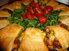 Crescent Roll Hamburgers.