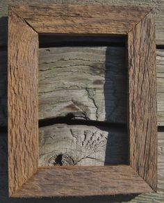 2 Primitive Rustic Old Barnwood Picture Frame 5x7 Wedding Photo Prop 150 Yr Old…