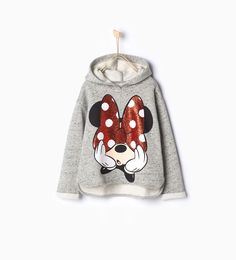 ZARA - KIDS - Shiny Minnie sweatshirt