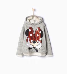 ZARA - KIDS - Shiny Minnie sweatshirt