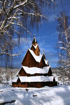 Heddal stave church | Flickr - Photo Sharing!