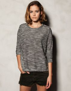 jumper with shoulder cut outs, beautiful